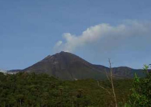 El volcán Reventador vuelve a emitir ceniza