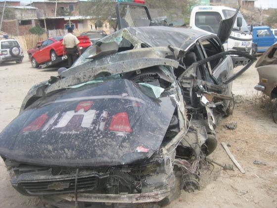 Un muerto y cuatro heridos en accidente frente a La Fabril
