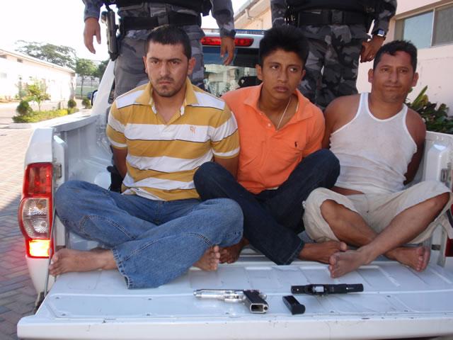 Presuntos miembros de 'Los Choneros' detenidos