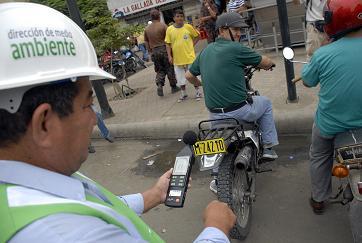 Campaña contra el ruido en Portoviejo