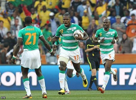 0-3. Costa de Marfil vence a Corea del Norte