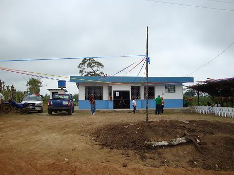 Inauguran dispensario del IESS en sitio La Saiba