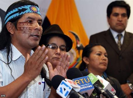 Santi desmiente que estuvo en estado etílico durante protestas de la Cumbre de Otavalo