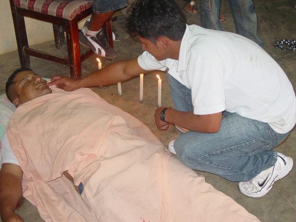 Vendedor de mariscos fue asesinado de dos puñaladas en la espalda