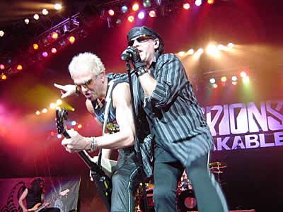 Scorpions en planes para tocar show en Ecuador