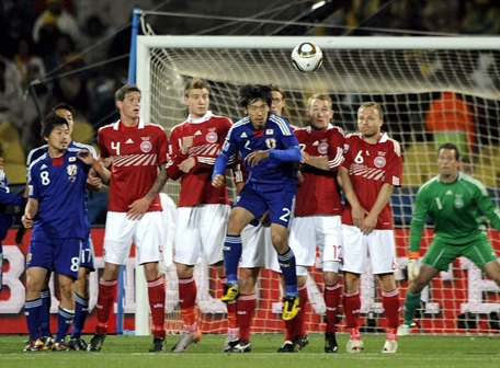 Japón se metió en octavos con contundente victoria sobre Dinamarca