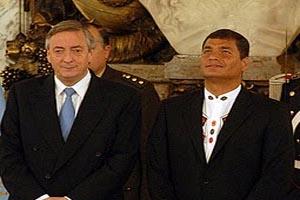 Presidente de la República recibe a Secretario General de la Unasur