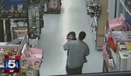 El secuestro frustrado de una niña captado en cámaras