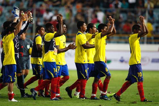 Ecuador llega a Perú con mira en el Mundial