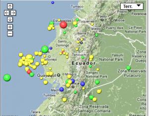 Sismo de 5.6 grados sacude parte del litoral ecuatoriano