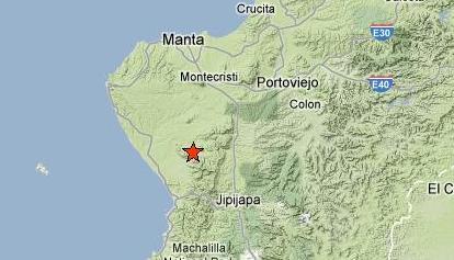 Un sismo de 3,5 grados se sintió esta madrugada en Manabí