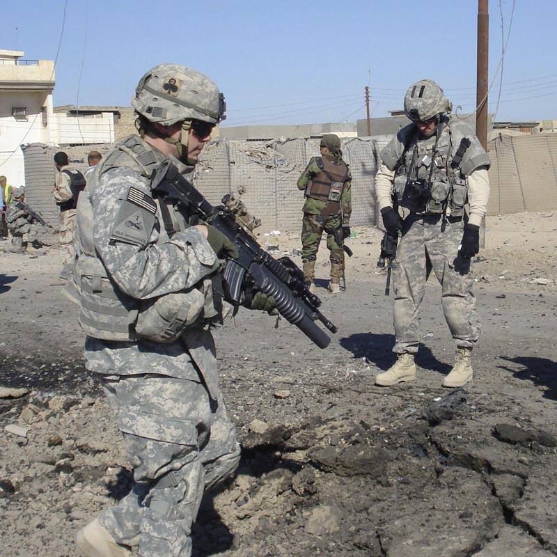 Mueren tres soldados estadounidenses