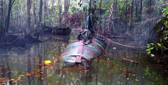 Más de cincuenta personas implicadas en 'narcosubmarino' hallado en Ecuador