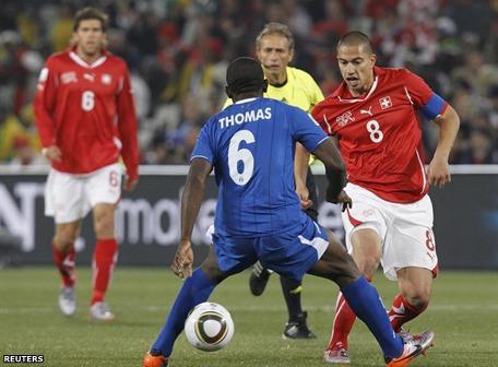 0-0. Suizos y hondureños empatan sin goles y se van del Mundial