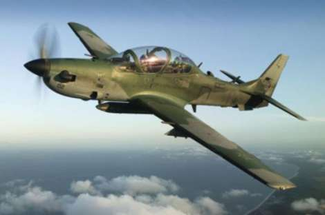 Avión Super Tucano se accidenta en Manta