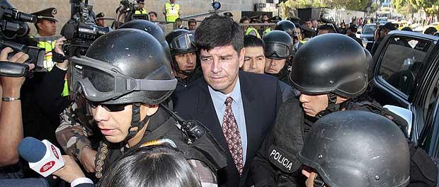 Tres años de prisión para el coronel Rolando Tapia