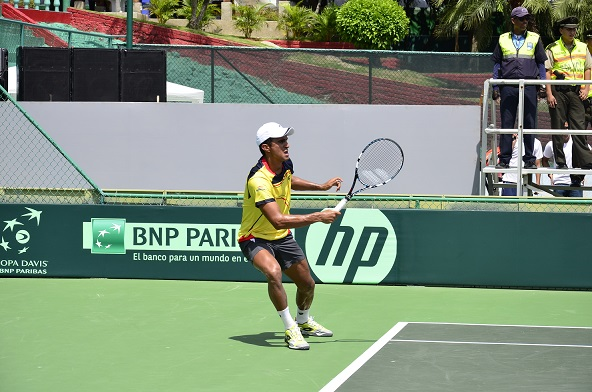 Ecuador pierde en dobles en la Copa Davis