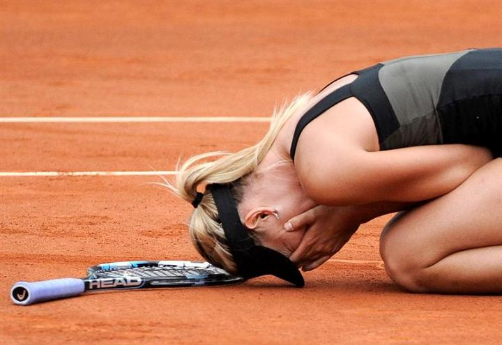 Maria Sharapova gana el Roland Garros por primera vez