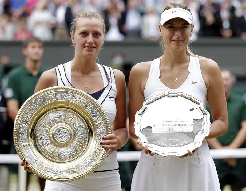 Kvitova se corona campeona en torneo de Wimbledon