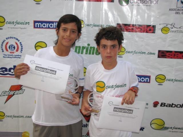 Manabita campeón nacional de tenis