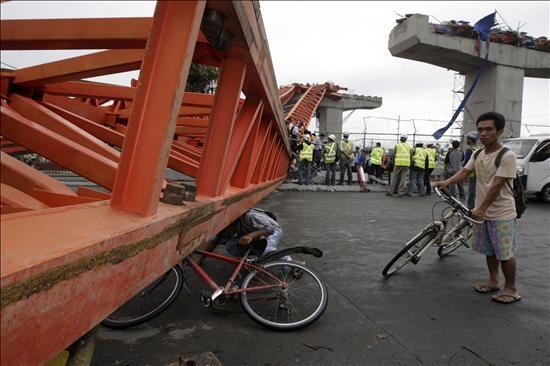 El primer tifón del año deja 21 muertos y 60 desaparecidos en Filipinas