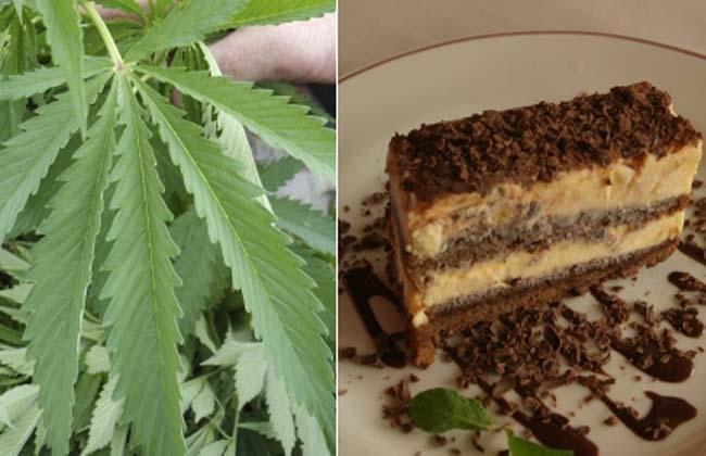 Nueve intoxicados por comer torta hecha con marihuana