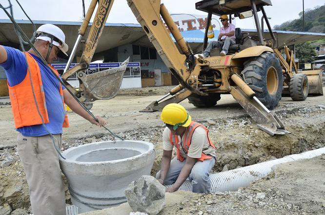 Trabajos en el terminal terrestre tienen 10% de avance
