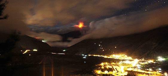 Se aleja la posibilidad de una nueva gran erupción en el Tungurahua