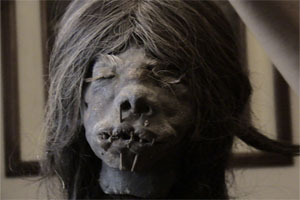 Policía de Macas investiga Tráfico de  Tzantzas o cabezas reducidas