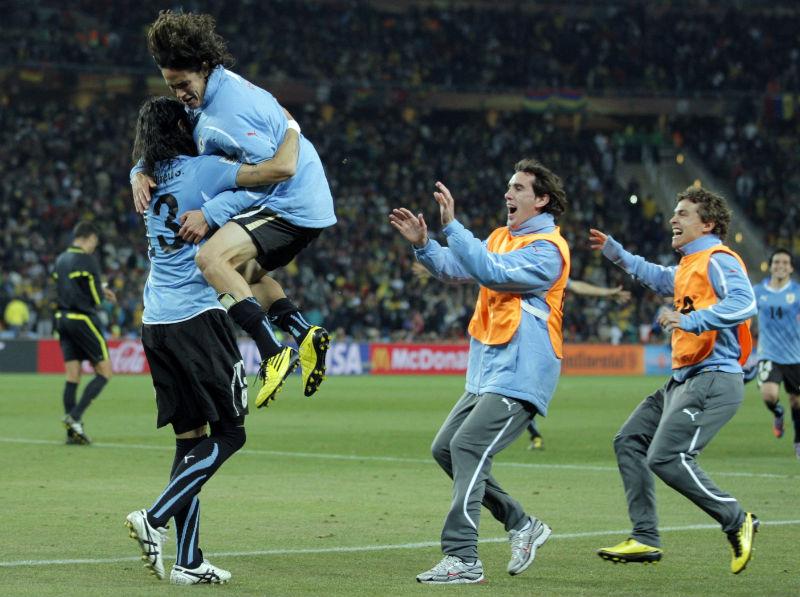 1(4)-1(2). Uruguay deja fuera a Ghana