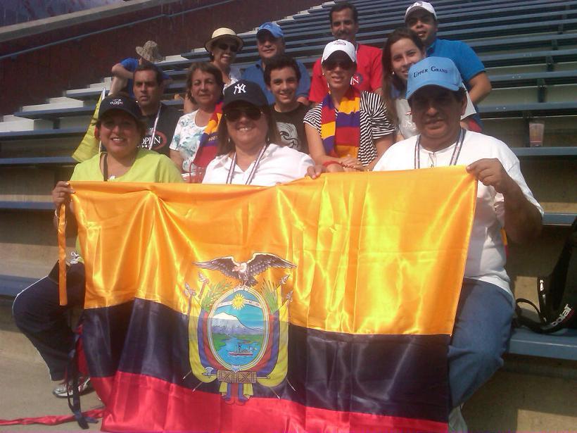 Ecuatoriano Campozano contra ucraniano en la 'Qually'