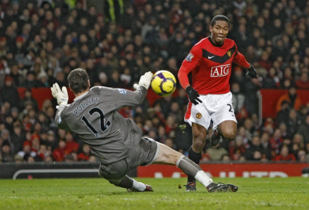 Valencia se lució en el Manchester United