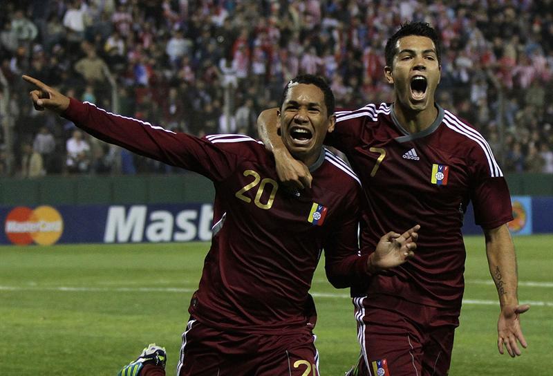 Épico empate de Venezuela ante Paraguay tres a tres