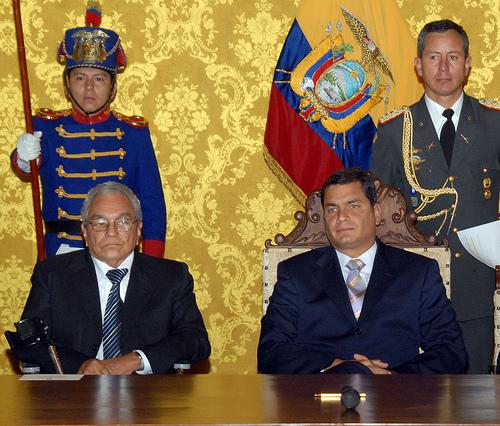 Alfredo vera fue cesado del ministerio del interior el for Ministerio del interior de ecuador