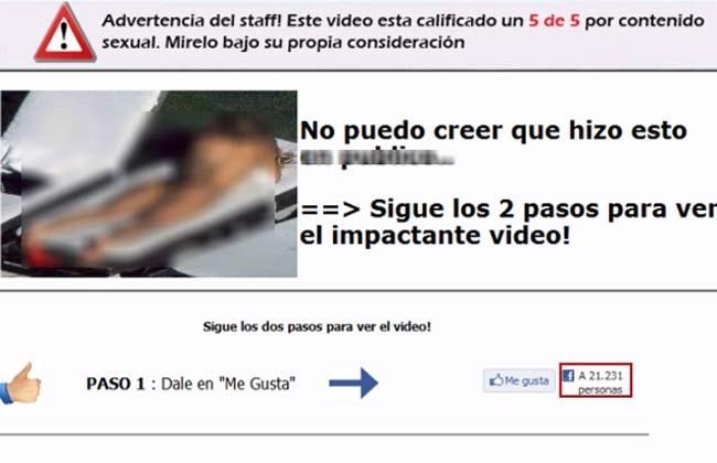Supuesto video 'caliente' de Shakira resulta ser un virus