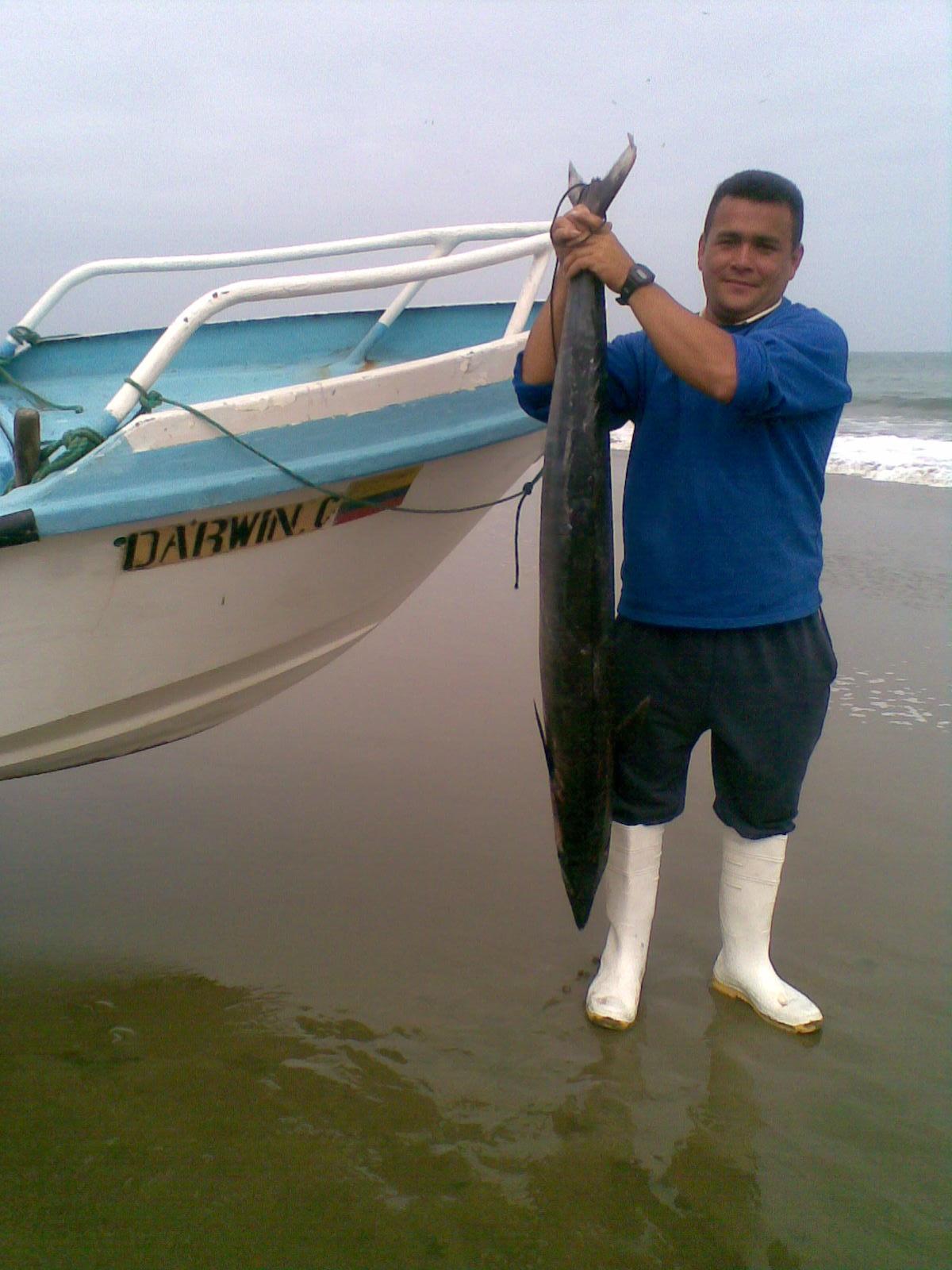 Pesca de wahoo concitó interés en San Jacinto