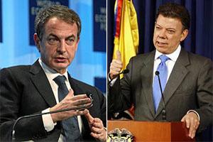 España ofreció a Juan Manuel Santos, colaboración para la paz