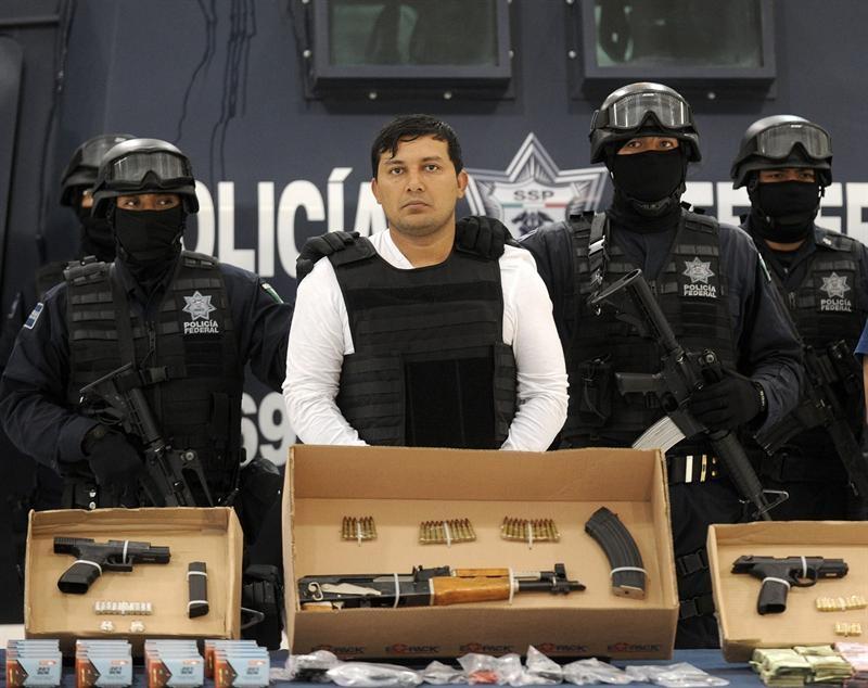 Detienen al tercero en la estructura de mando de Los Zetas