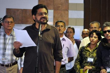 Dos nuevos delegados de las FARC irán a negociaciones en Cuba