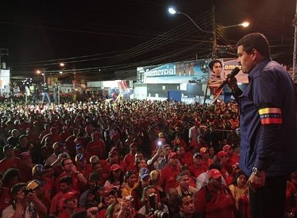 Maduro promete reconocer 'si la burguesía gana'
