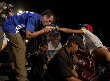 Henrique Capriles pide no tener miedo a votar