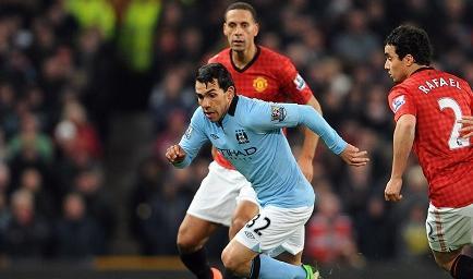 El City logra vencer 2-1 a un United que continúa inalcanzable
