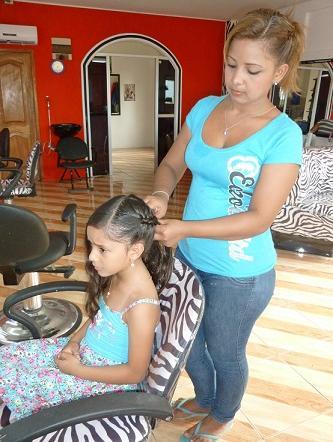 Peinados para sus hijos