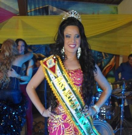 María Cristina es la Miss Trans Manabí.