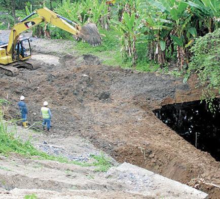 Investigan afectaciones por el derrame de crudo