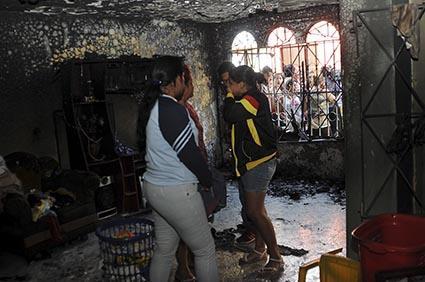 Cinco hermanos mueren en incendio en Guayaquil