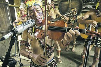 Recuperan la música ancestral