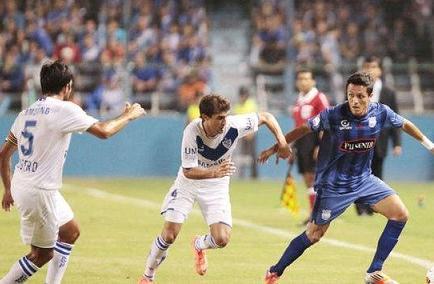 Emelec, por la clasificación ante Vélez
