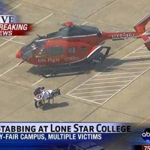 Hombres apuñalan a 12 personas en la Universidad de Texas