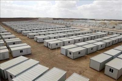 Segundo campo de refugiados sirios en Jordania